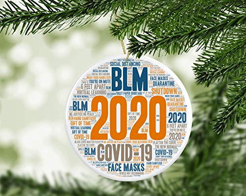 2020 Christmas Ornament Quarantine, Year in Review, Funny Christmas Ornament, Gag Gift