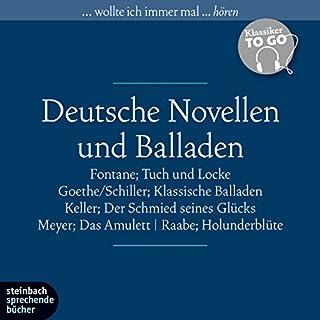Deutsche Novellen und Balladen (Klassiker to go) Titelbild
