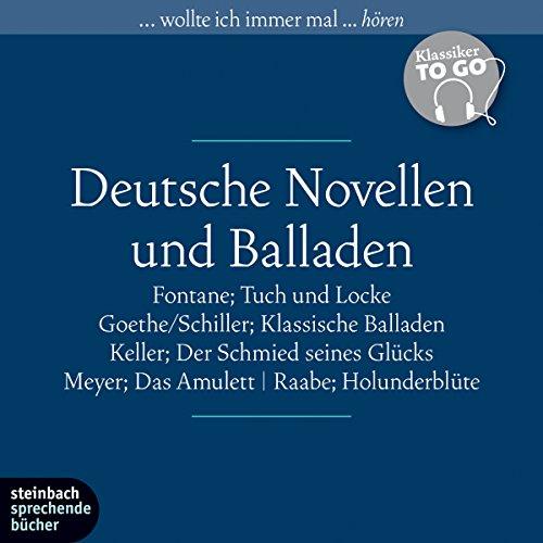 Couverture de Deutsche Novellen und Balladen