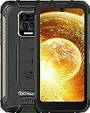 DOOGEE S59 Telefono Movil, [2021] 10050mAh 4GB RAM+64GB ROM, lP68 IP69K Movil Resistente, Potente Altavoz 2W, Cámara Cuádruple 16MP+Cámara Frontal 16MP Smartphone Android 10 4G, 5.71', NFC/GPS, Verde