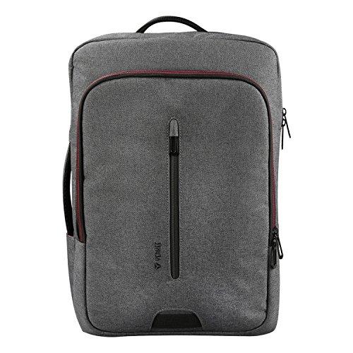 Yenkee YBB 1522GY Konvertierbarer Notebookrucksack TARMAC 15,6