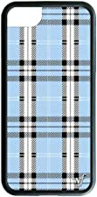 Wildflower Limited Edition iPhone Case for iPhone 6, 7, or 8 (Blue Plaid)