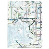 東京カートグラフィック 鉄道路線図 クリアファイル 関西日本語 × 5 セット RFKJ