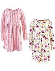 توتشد باي ناتشر فساتين من القطن العضوي للفتيات (الاطفال بعمر الرضاعة، الاطفال الصغار، وعمر الشباب)
