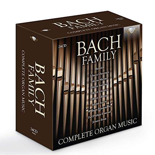 Bach Family:Complete Organ Music