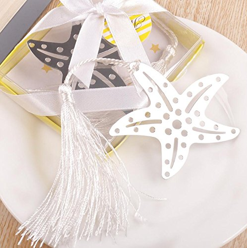 Book Lovers Collection Metal Starfish Bookmark Favors (24)