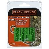 ブラックアンドデッカー コードレスチェーンソー替刃 A6158