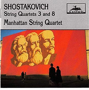 Shostakovich: String Quartets Nos. 3 & 8