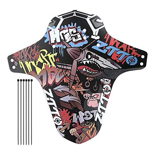 MZY1188 Mountainbike abnehmbare Universal-Schnellspanner,Vordere oder hintere kompatible Kotflügel Schutzbleche Fahrradzubehör Fahrradreifen Schutzbleche