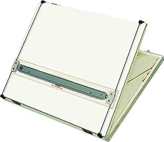 Prancheta Portátil com Régua Paralela e Regulagem da Inclinação, Trident 5000, Branco, Formato A3