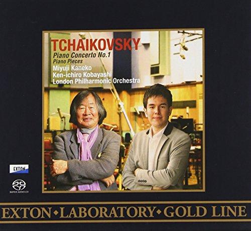 <EXTON Laboratory Gold Line>チャイコフスキー:ピアノ協奏曲第1番、他