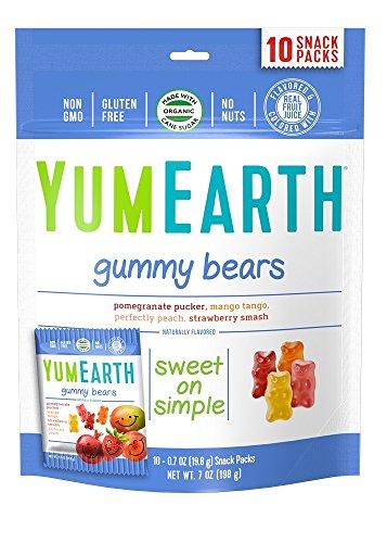 YumEarth Organic Gummy Bears 10 Count