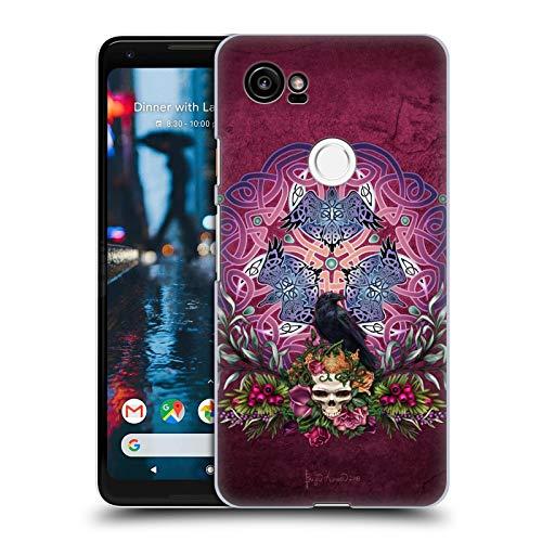 Head Case Designs Officially Licensed Brigid Ashwood Morrigans Ravens Celtic Hard Back Case Compatible with Google Pixel 2 XL