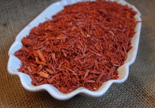 Naturix24 – Sandelholz, Rotsandelholz geschnitten – 100 g Beutel