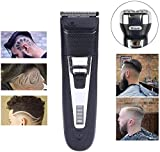 Cortapelos profesional sin cable para hombres Fácil de usar el cabello pelo podadoras podadoras barba cortadora de...