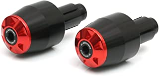 STORM Red CNC Bar End Sliders For Ducati Monster 1000 600 620 700 Monster 695 795 796 MONSTER 1100 S Monster 900