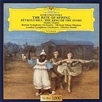 Michael Tilson Thomas / Charles Dutoit - Stravinsky: The Rite Of Spring / The King Of Stars / Petrouchka [Japan LTD CD] UCCG-5083 by Michael Tilson Thomas / Charles Dutoit
