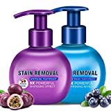 Baking soda Toothpaste,Intensive Stain Remover Whitening Toothpaste Anti Bleeding Gums for Brushing Teeth (Passion Fruit,Blueberry)