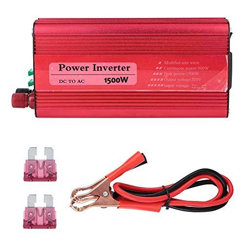 Affordable 1500W Solar Power Inverter 12V 24V Convert 220V Modified Car Converter for On-Board Refri...