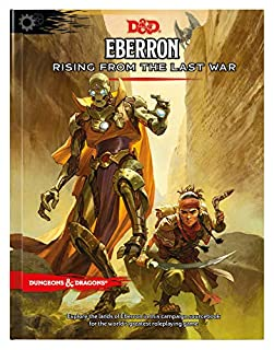 Eberron: Rising from the Last War (D&D Campaign Setting and Adventure Book) (0786966890) | Amazon price tracker / tracking, Amazon price history charts, Amazon price watches, Amazon price drop alerts