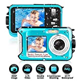 Best Waterproof Cameras - Waterproof Camera Underwater Camera 2.7K FULL HD 48MP Review