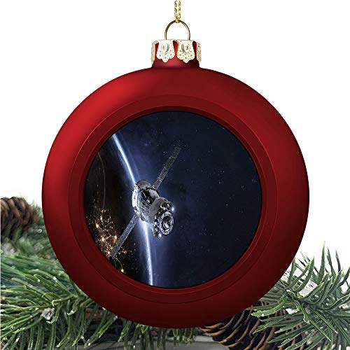 aosup Spaceship in The/Christmas Ball Ornaments 2020 Christmas Pendant Personalized Creative Christmas Decorative Hanging Ornaments Christmas Tree Ornament №SW09122