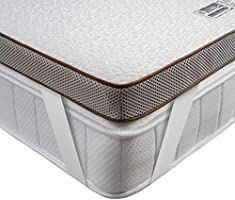 BedStory Matratzentopper, Gel Topper mit Abnehmbarem und Waschbarem Bezug, Atmungsaktive und Bequeme Matratzenauflage für...