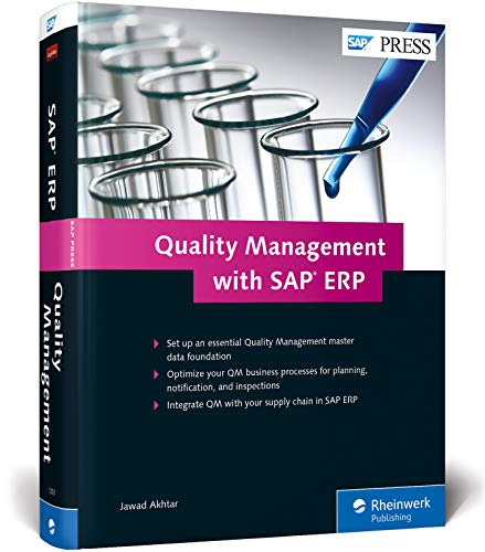 Compare Textbook Prices for Quality Management with SAP ERP; SAP ERP QM 1st Edition ISBN 9781493212033 by Jawad Akhtar
