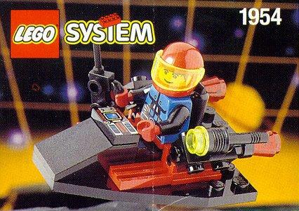 LEGO System Spyrius 1954 Surveillance Scooter