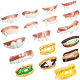 Best Fake Teeths - 24 Pieces Gnarly Gag Teeth Ugly Fake Teeth Review