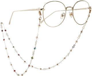 Mode d/'acier inoxydable Chaîne serpent lunettes cordon réglable Fin 27