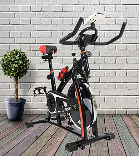 2020 Nuevo Deporte Aeróbico Bicicleta Estudio Interior Entrenamiento Fitness Cardio Bicicleta Ciclismo Hogar Fitness Gimnasio Monitor LED (Botella de Agua Incluida) 🔥