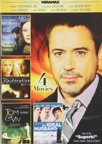 Miramax British Cinema V.1: Restoration / An Ideal Husband / Her Majesty, Mrs. Brown / Tom & Viv