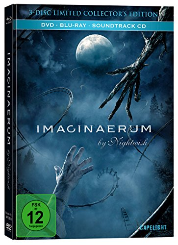 Imaginaerum by Nightwish (Limited Mediabook / DVD + Blu-ray + Soundtrack CD)
