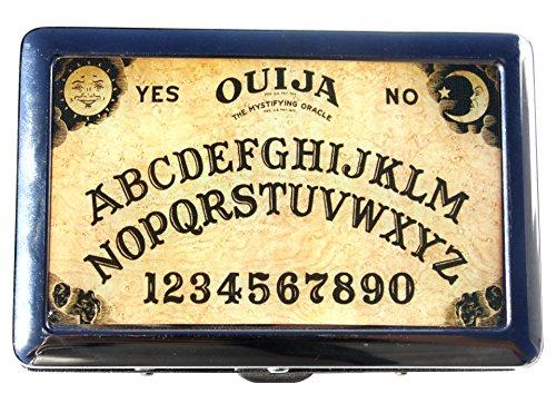 Ouija Board Design Metal Cigarette Holder CASE - Money Holder - Metal CASE