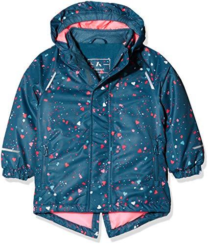 NAME IT Mädchen NMFSNOW03 AOP Jacket FO Jacke, Mehrfarbig (Legion Blue Legion Blue), 104