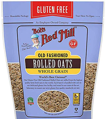 Bob's Red Mill Gluten Free Old Fashion Rolled Oats, 14 Oz