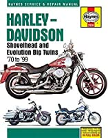 Harley-Davidson Shovelhead and Evolution Big Twins '70 to '99 (Haynes Service & Repair Manual)
