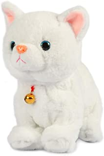 Sponsored Ad - Smalody Interactive Plush Toys, Novelty Sound Control Electronic Cat Electronic Pets Robot Cat Gift for Chi...