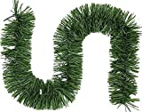 TAKSON Christmas Garland 18 Feet Greenery Garland Artificial Pine Garland for Holiday Party Decoration