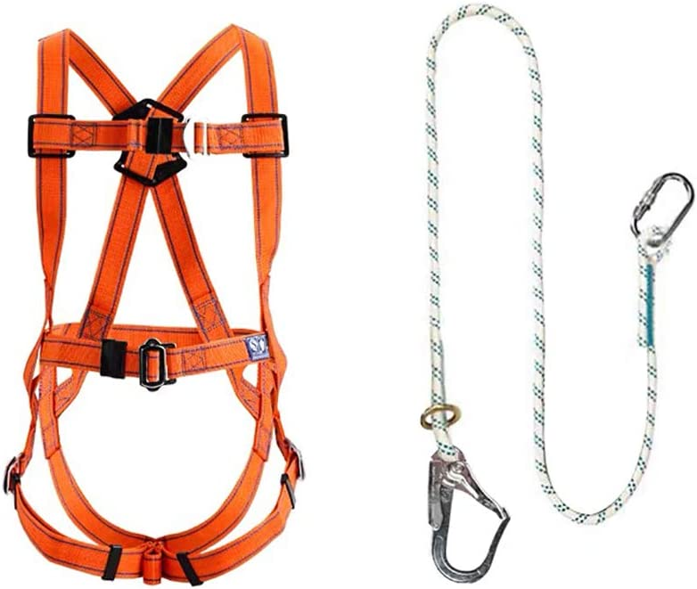 Max 76% OFF xgfqb Safety Fall Free shipping Arrest Kit Full-Body Be Adjustable Seat Belt