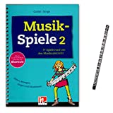 Musikspiele Band 2-77 Spiele rund um den Musikunterricht enthält Spiele für alle denkbaren Unterrichtssituationen - Helbling Verlag S7448 9783862272037