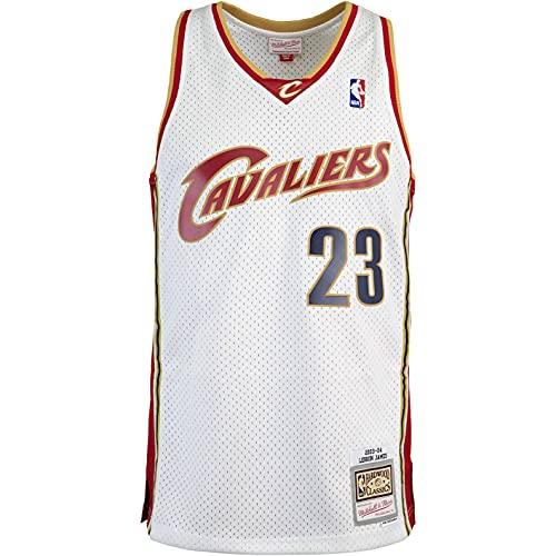 Mitchell & Ness Swingman Lebron James Cleveland Cavaliers 09/10 Trikot (XL, Multi, x_l)