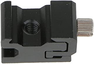 """Generic Universal Camera Hot Shoe Flash Stand Adapter with 1/4""""- 20 Tripod screw"""