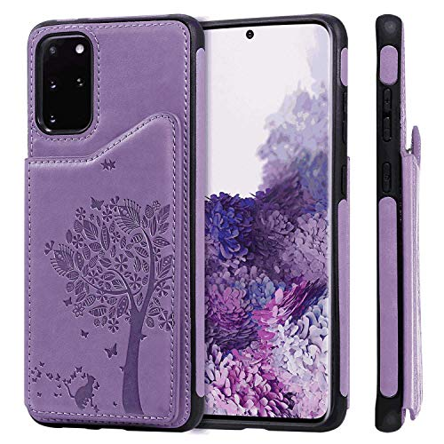 Fantastic Prices! Flip Case Fit for Samsung Galaxy S9, Card Holders Extra-Protective Kickstand Blue ...