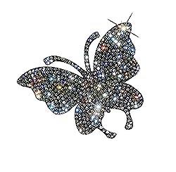 Butterfly Pattern of Crystal Car Sticker