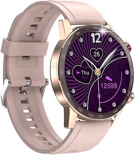 Reloj inteligente Bluetooth llamada Smartwatch con control de salud todo el día Play Music Menstrual Ciclo Pasos Contador Deportivo Running Watch-1