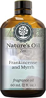Frankincense and Myrrh Fragrance Oil (60ml) For Diffusers, Soap Making, Candles, Lotion, Home Scents, Linen Spray, Bath Bombs, Slime