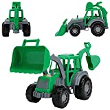 CO-T Excavator Toy for Boys - Backhoe Toy for Toddlers - Toy Bulldozer...