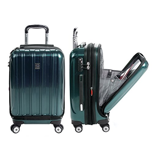 DELSEY Paris Helium Aero Hardside Expandable Luggage with Spinner Wheels, Teal
